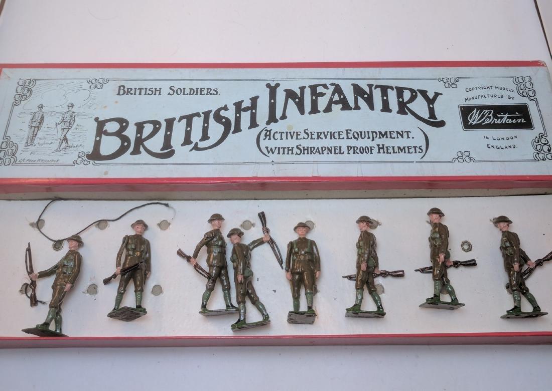Britains 195 British Infantry