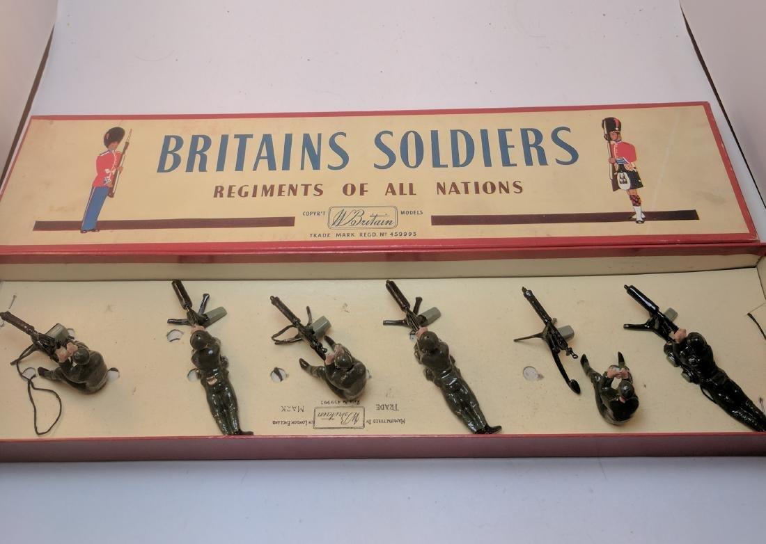 Britains 1318 British Machine Gunners