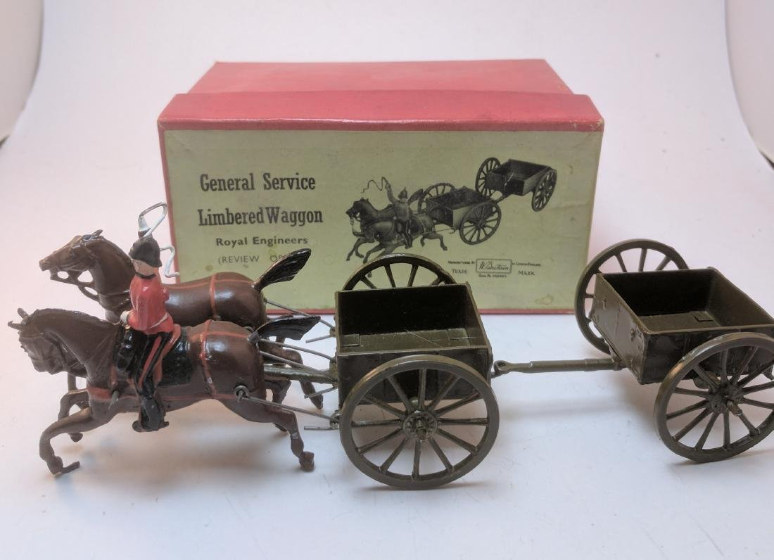 Britains 1330 General Service Limbered Wagon