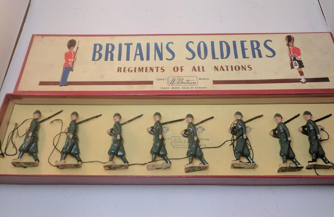 Britains 145 Italian Infantry
