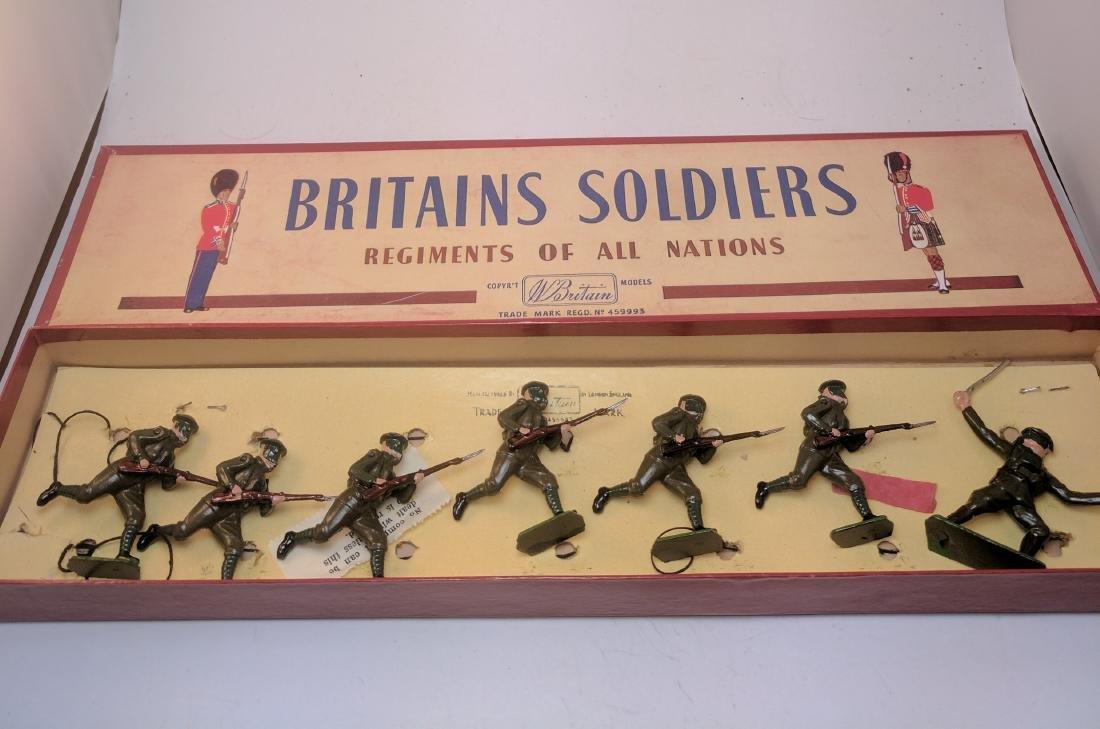 Britains 1613 British Infantry In Action