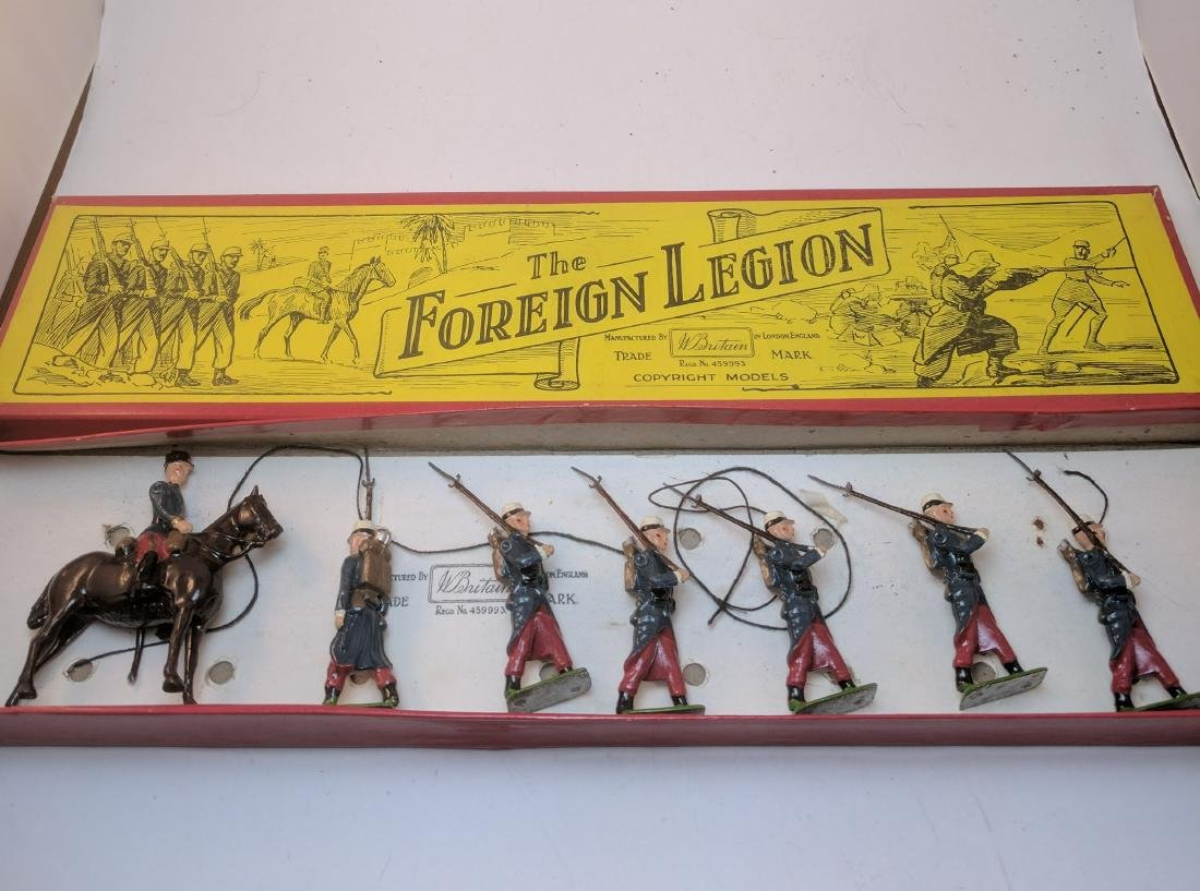 Britains 1711 Foreign Legion