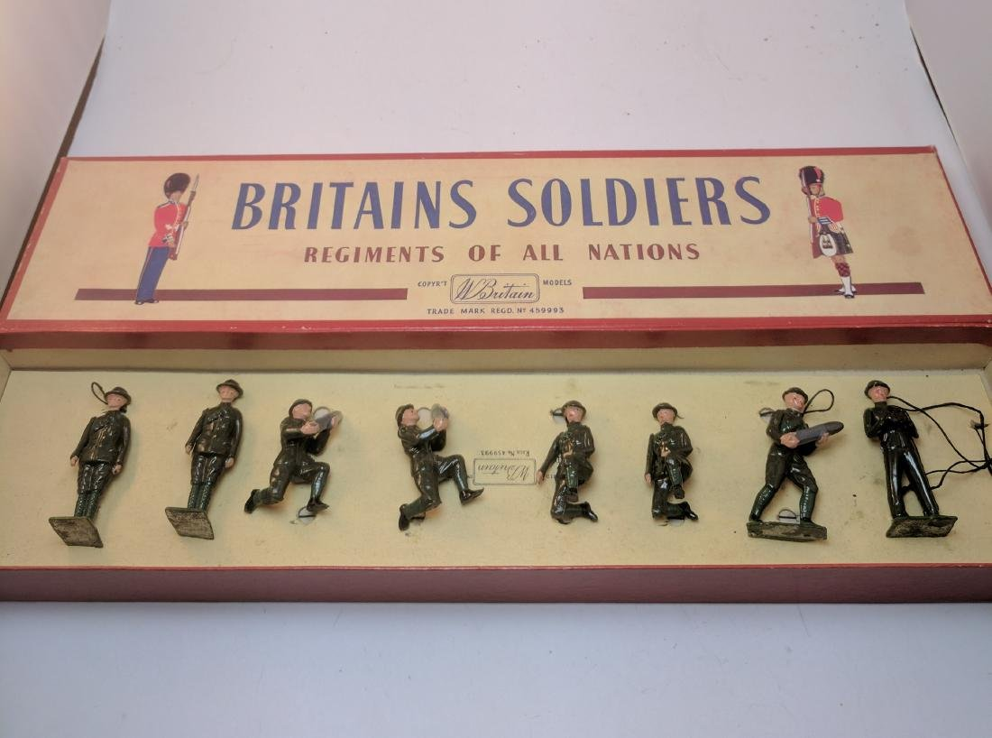 Britains 1730 Royal Artillery Detachment