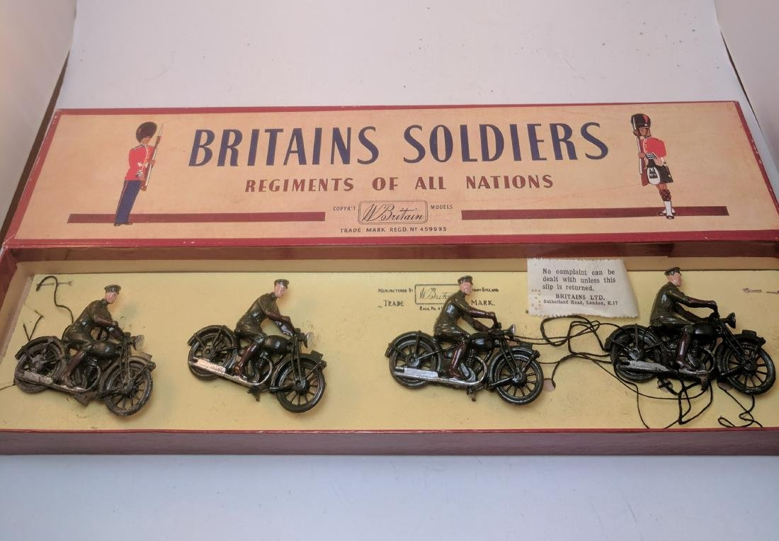 Britains 1791 Royal Corp's Signal Riders