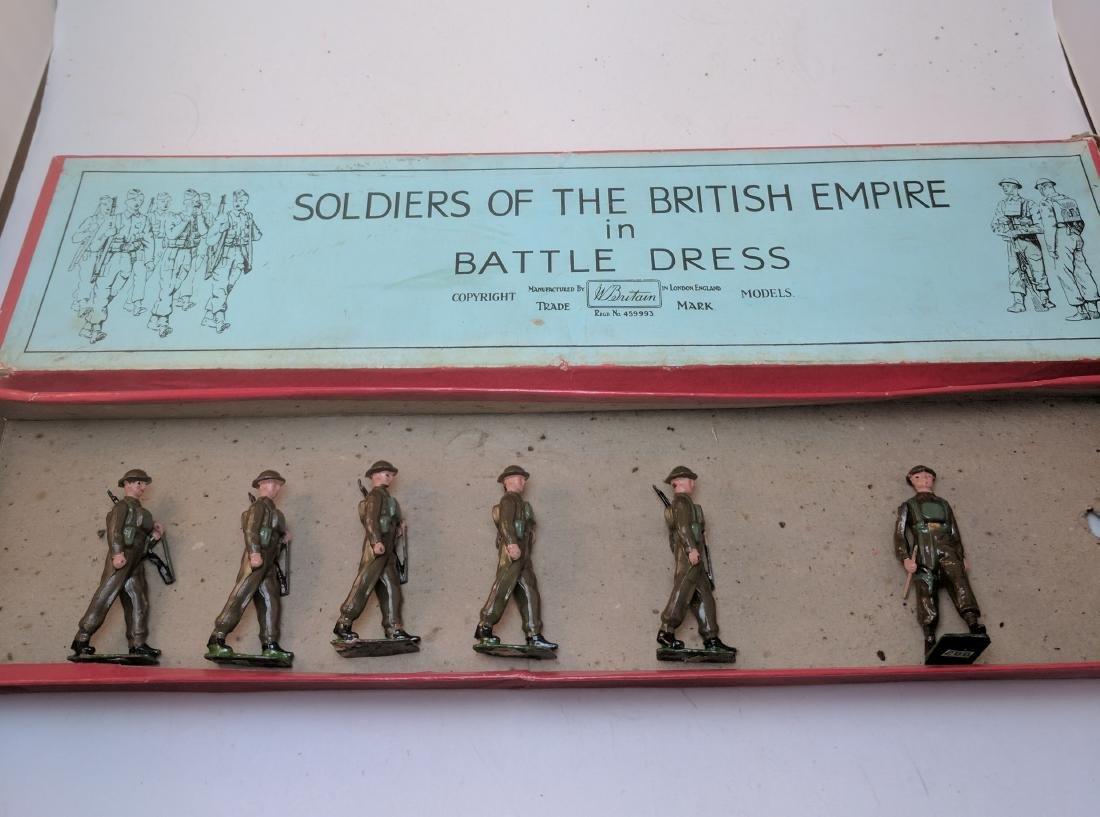 Britains 1858 British Infantry In Battle Dress