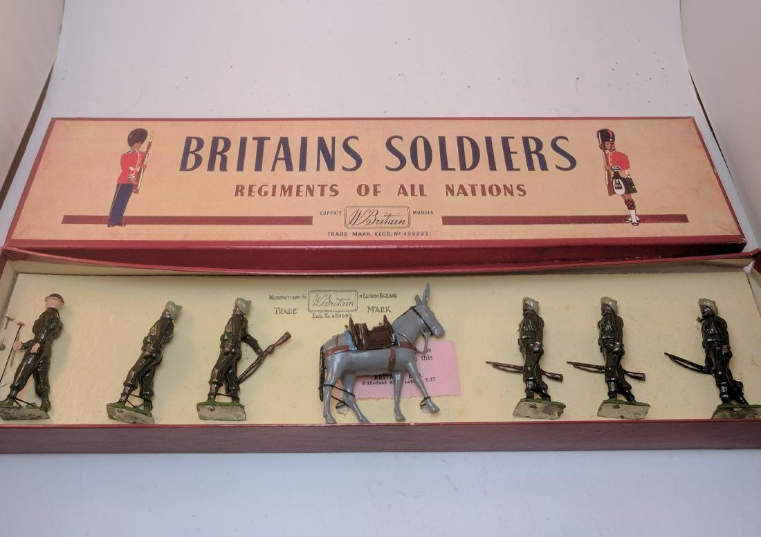 Britains 1893 Indian Army Service Corps
