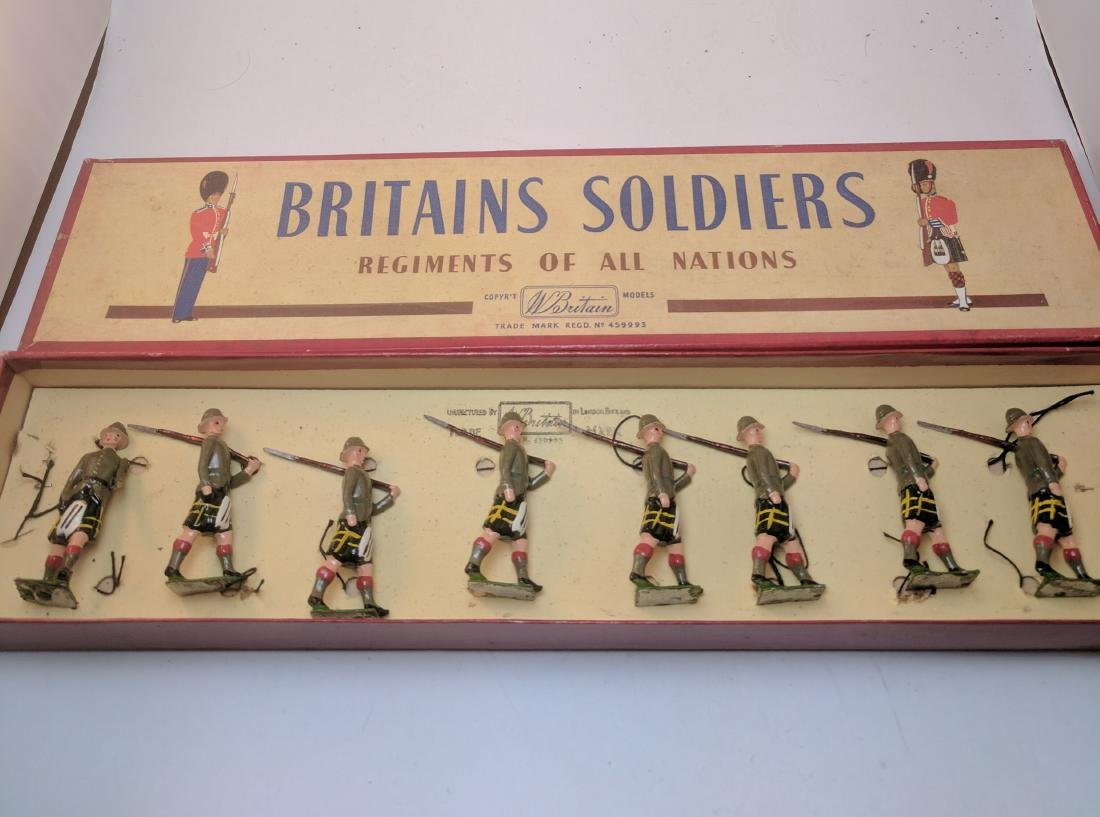 Britains 1901 Cape Town Highlanders