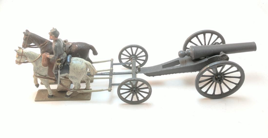 Mignot Confederate Gun Team