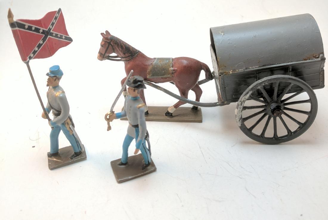 Mignot Confederate Wagon