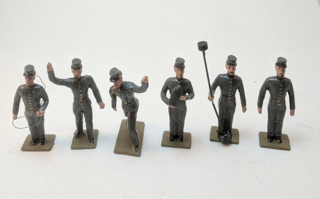 Mignot Confederate Artillery Crew