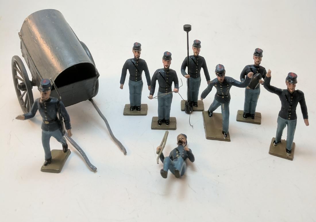 Mignot Union Artillery & Extras