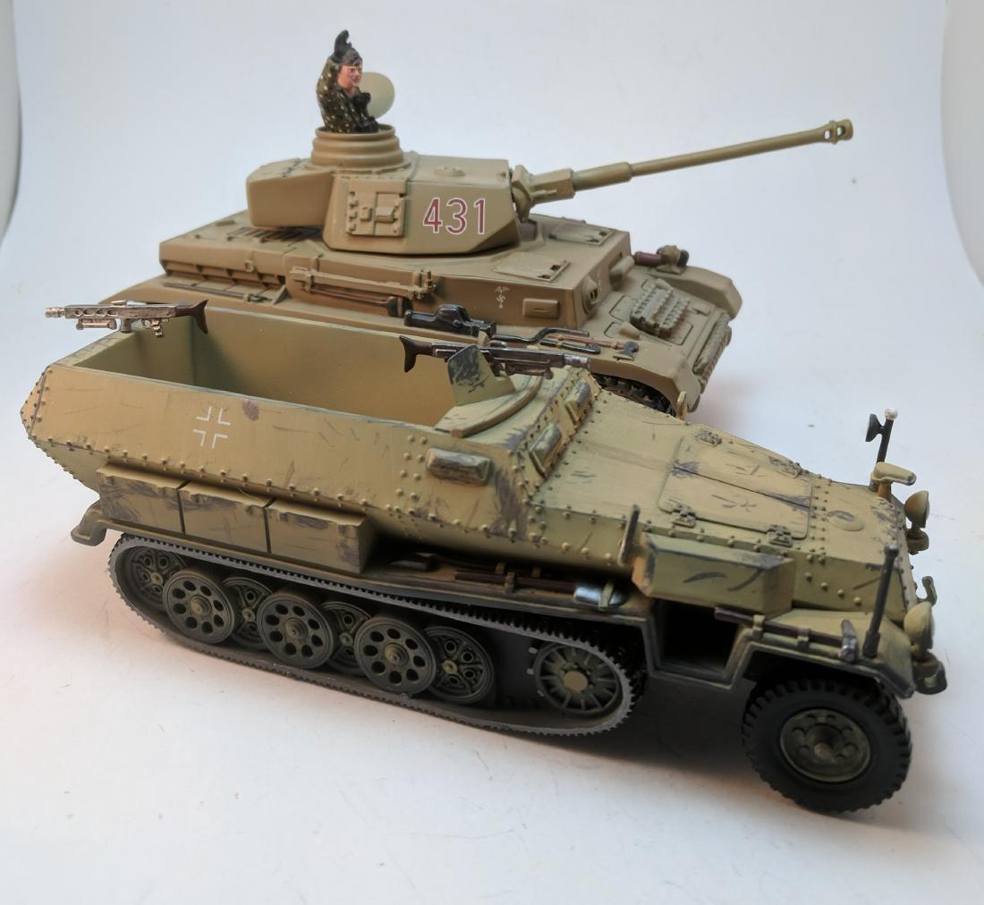 Britains Panzer & Half Track