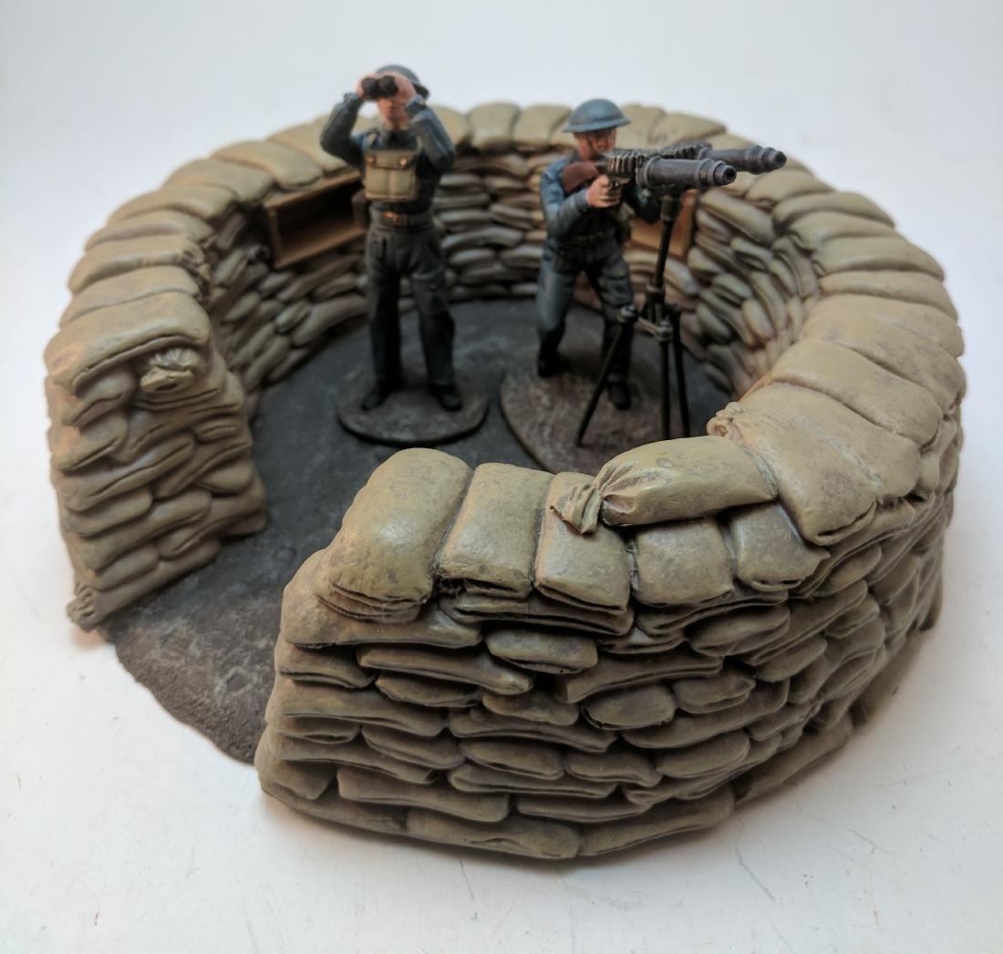 Britains French Machine Gun Team