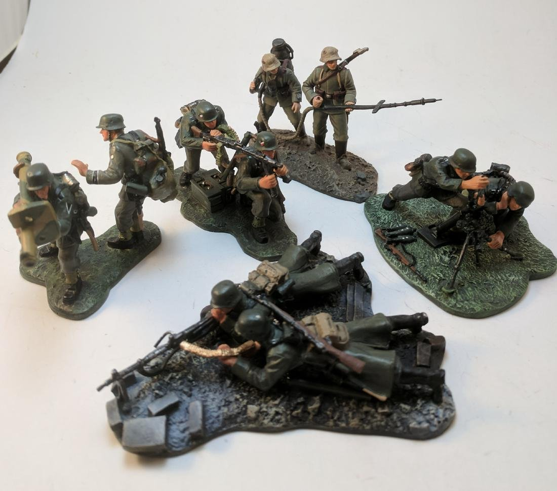 Britains WWII German Gun Crews