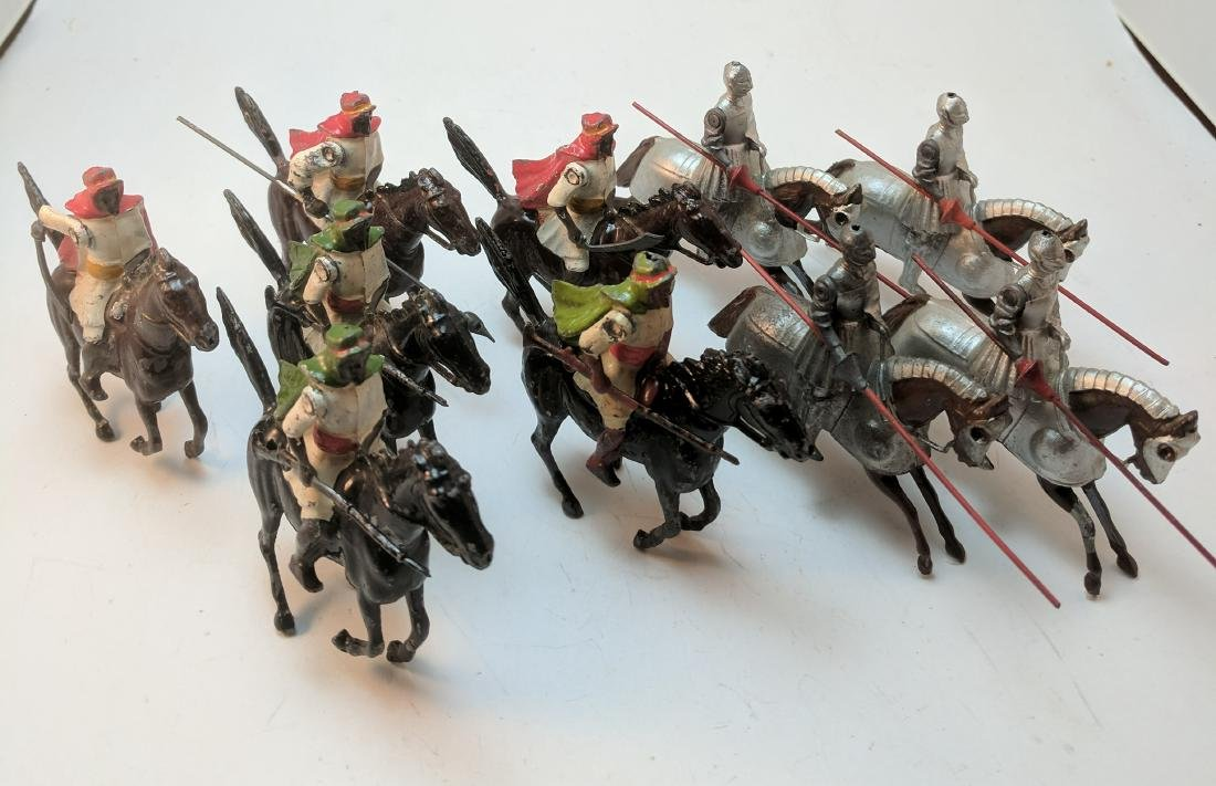 Britains Mounted Arabs & Knights