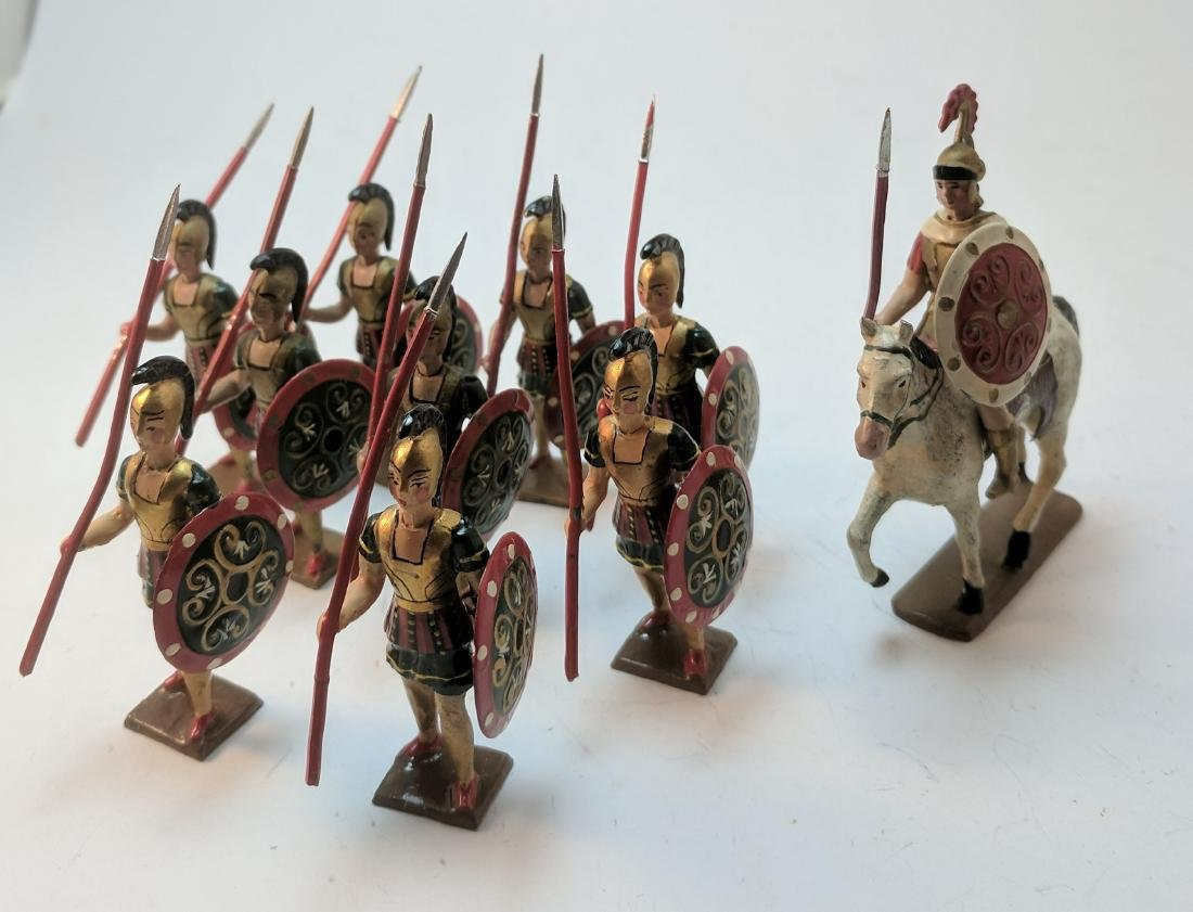 Mignot Greeks with Spears