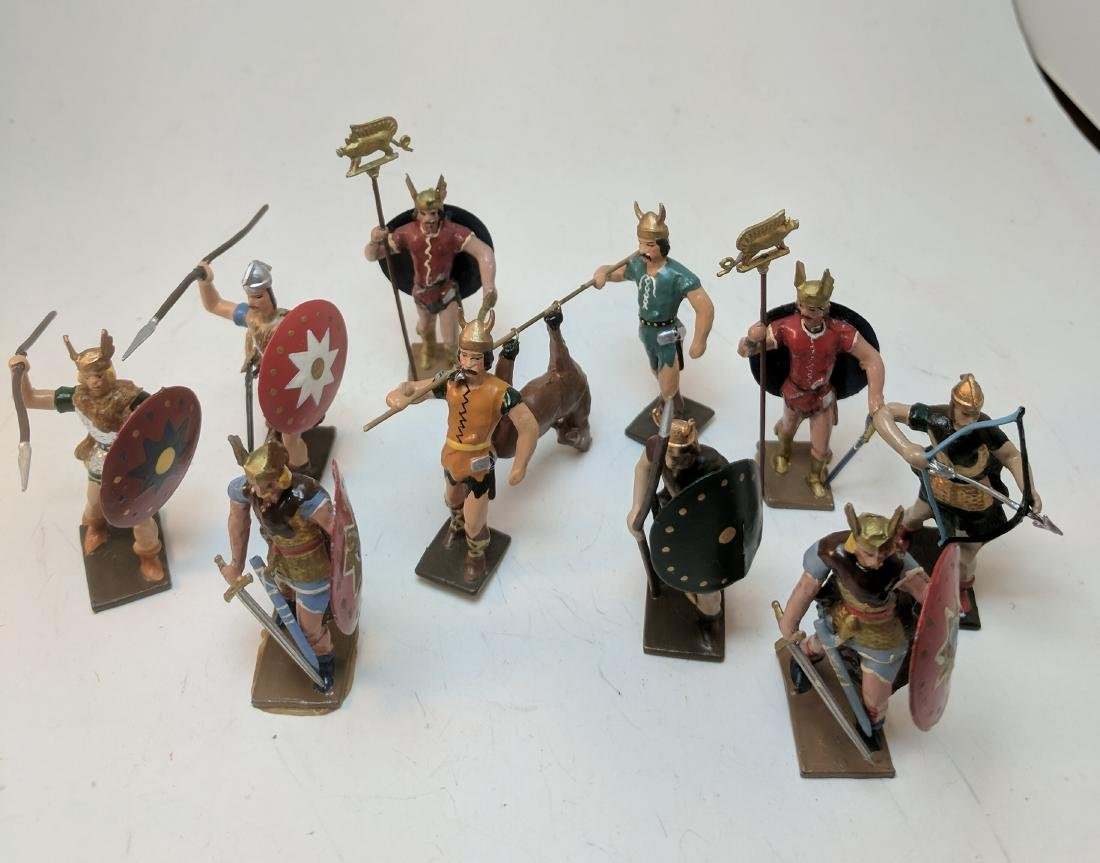 Mignot Gauls Various Poses
