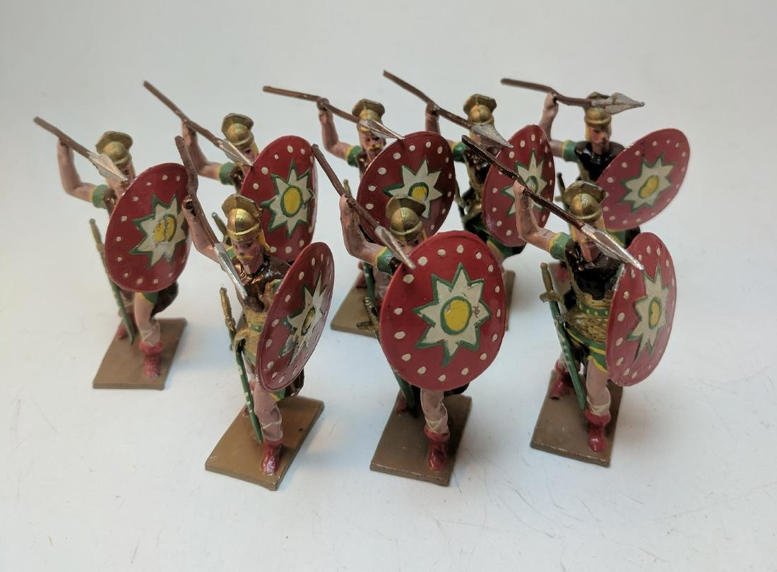 Mignot Gauls with Spears