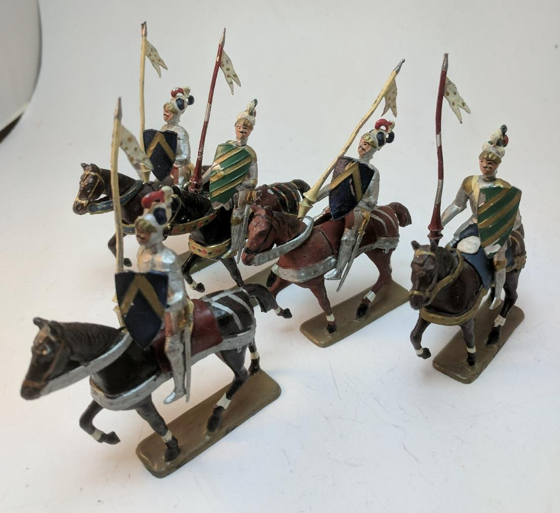 Mignot Knights Mounted