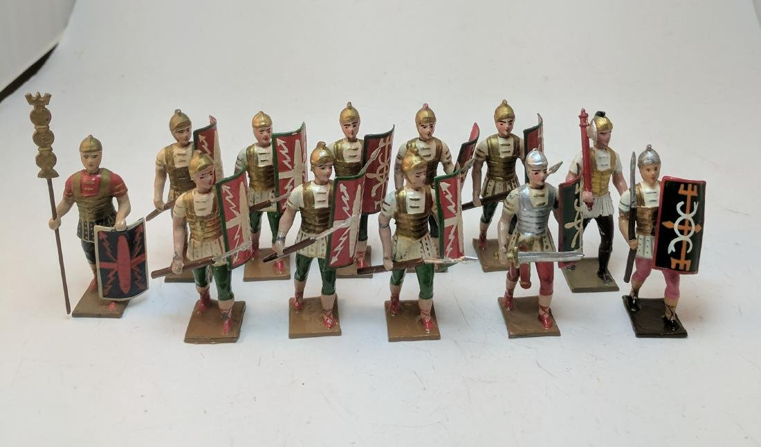 Mignot Romans Mounted and Foot