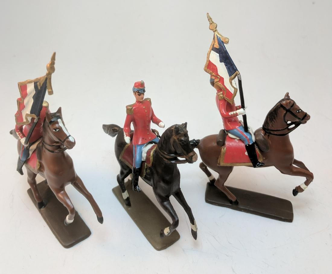 Mignot French Cavalry 1880