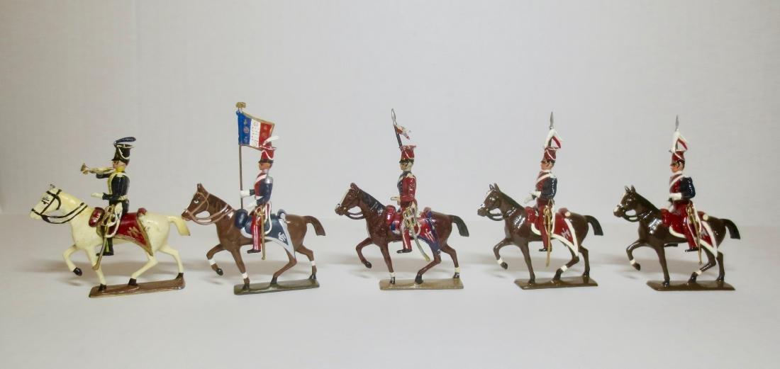 Mignot Various Mounted Lancers