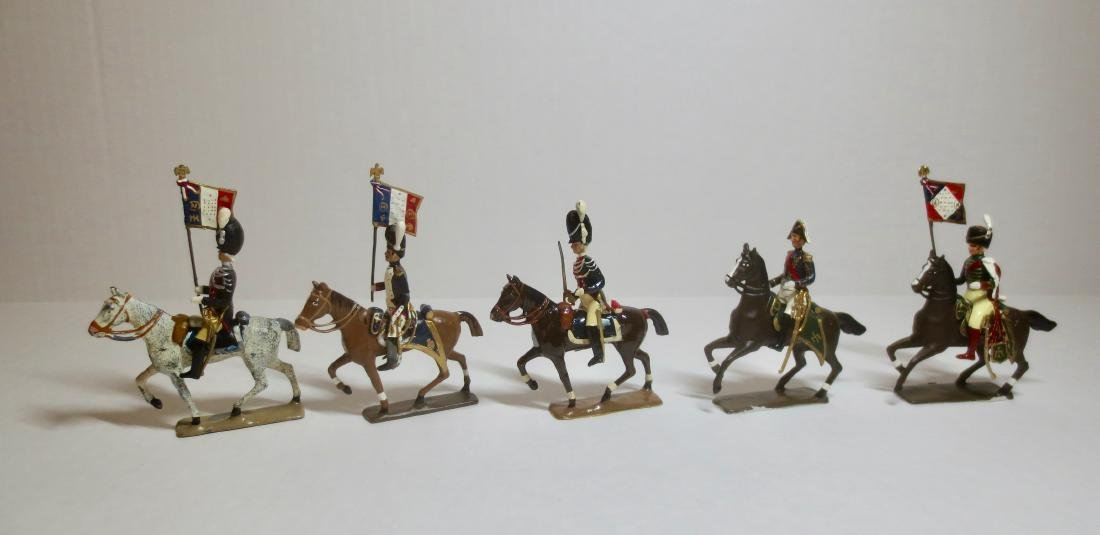 Mignot Mounted Officers & Flagbearers