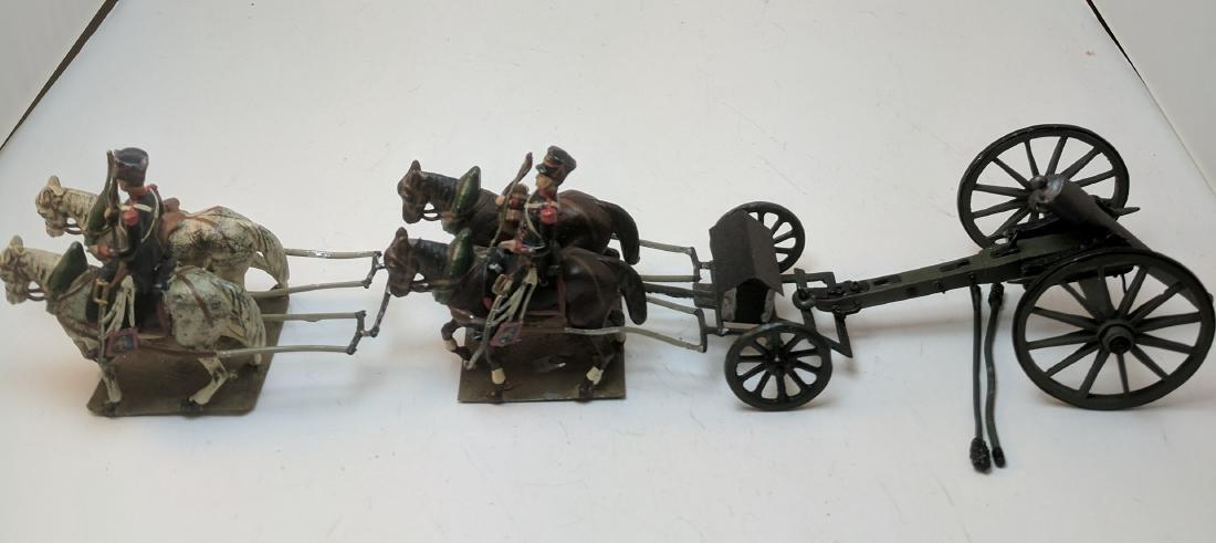 Mignot Napoleonic Gun Team
