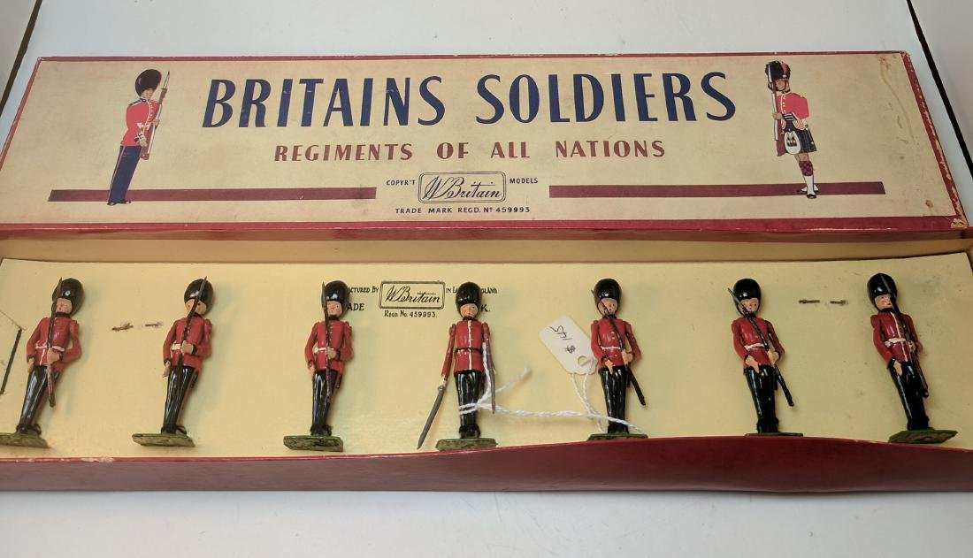Britains 2078 Irish Guards