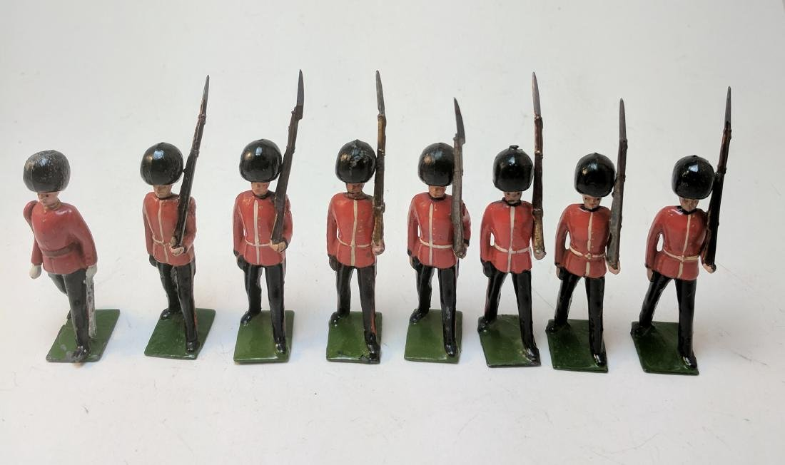 Britains 75 Scots Guards Marching
