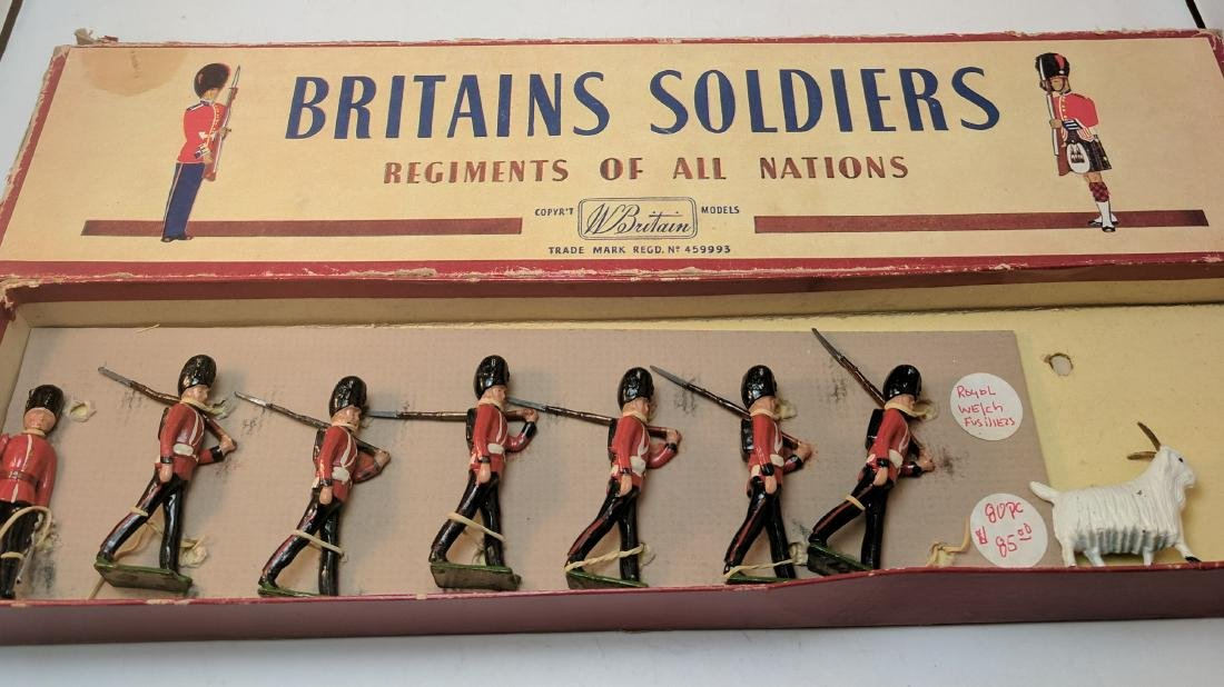 Britains 74 Royal Welsh Fusiliers