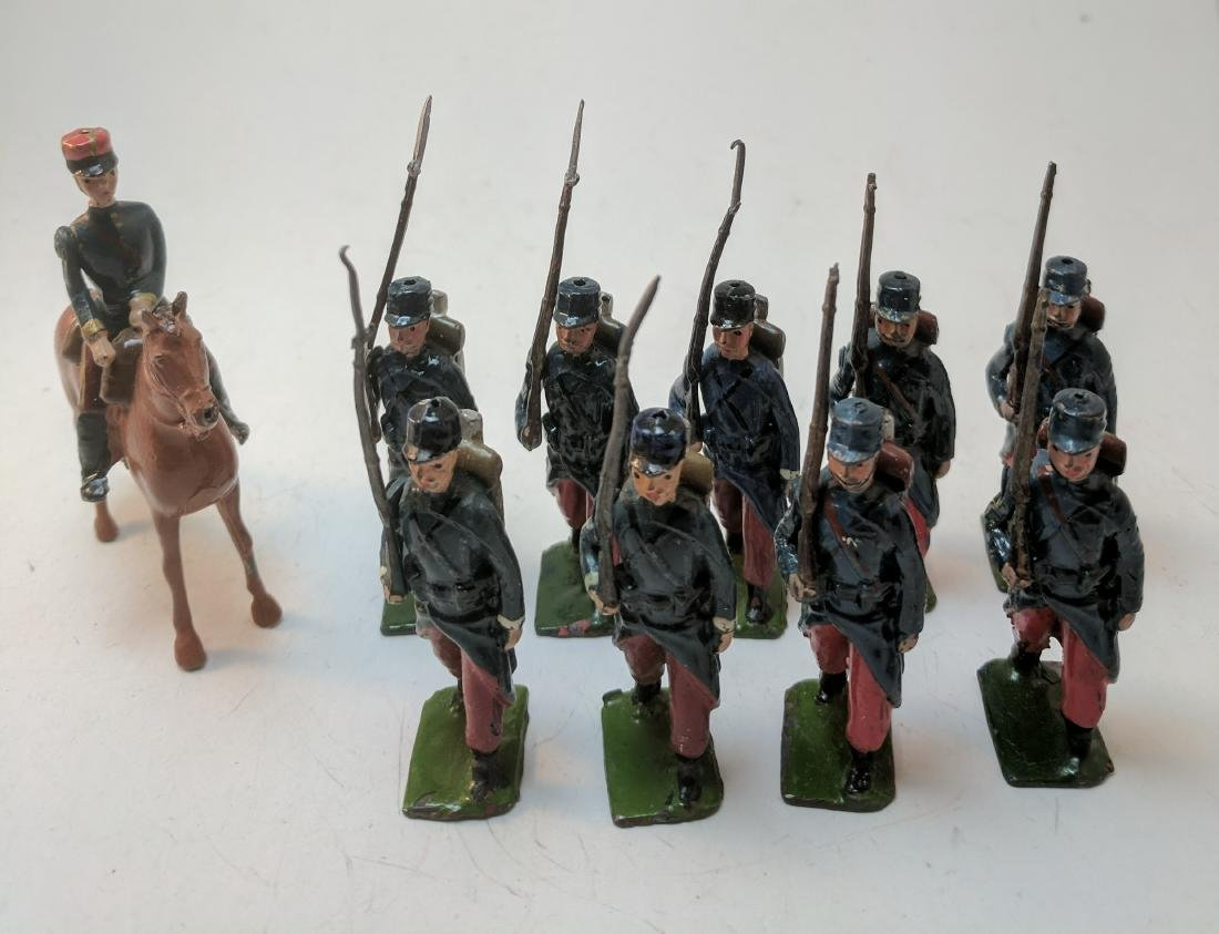 Britains 141 French Infantry
