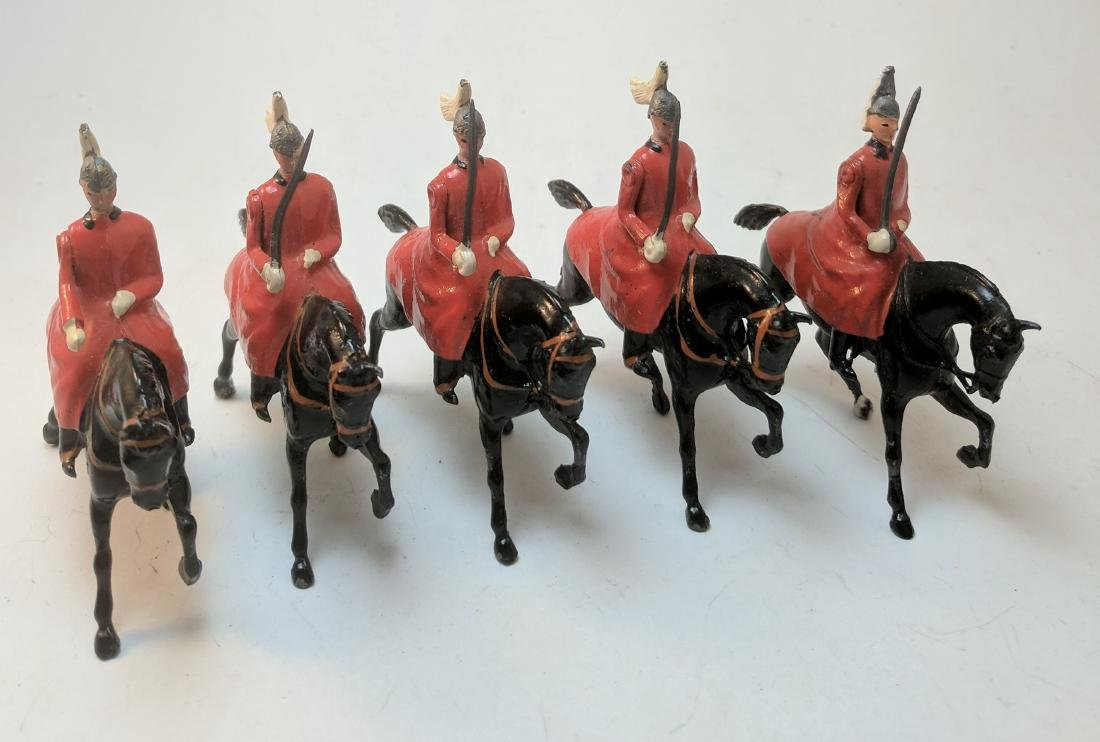 Britains 400 Lifeguards in Red Cloaks