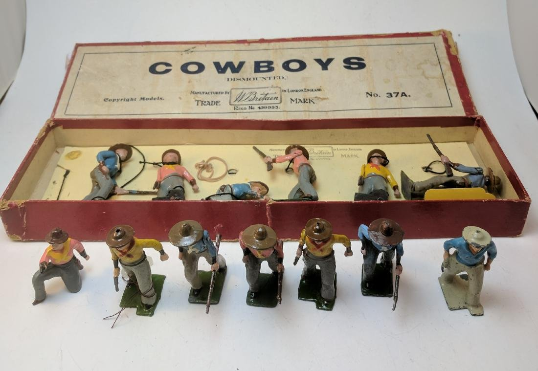 Britains 37A Cowboys plus Extras