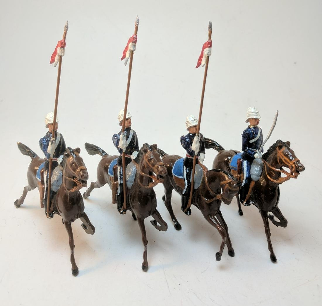 Great Britain & Empire 17th Lancers Charging