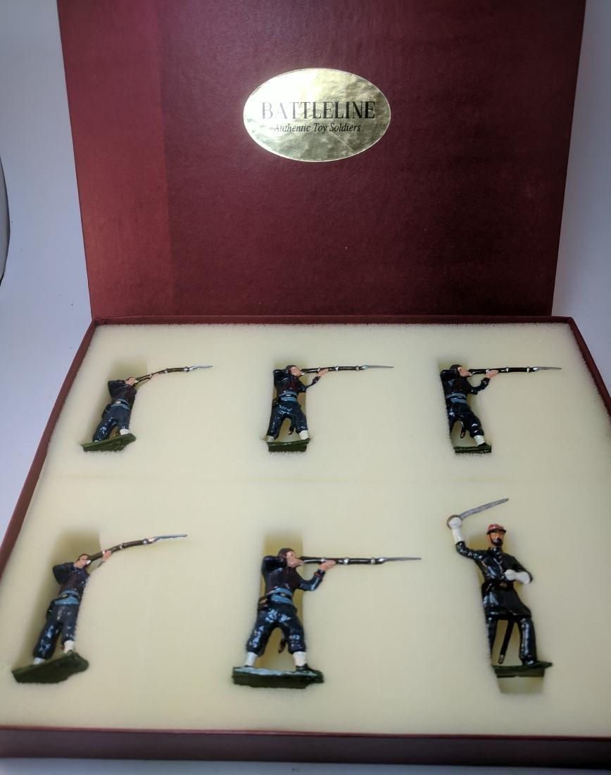 Battleline 164th Zouaves