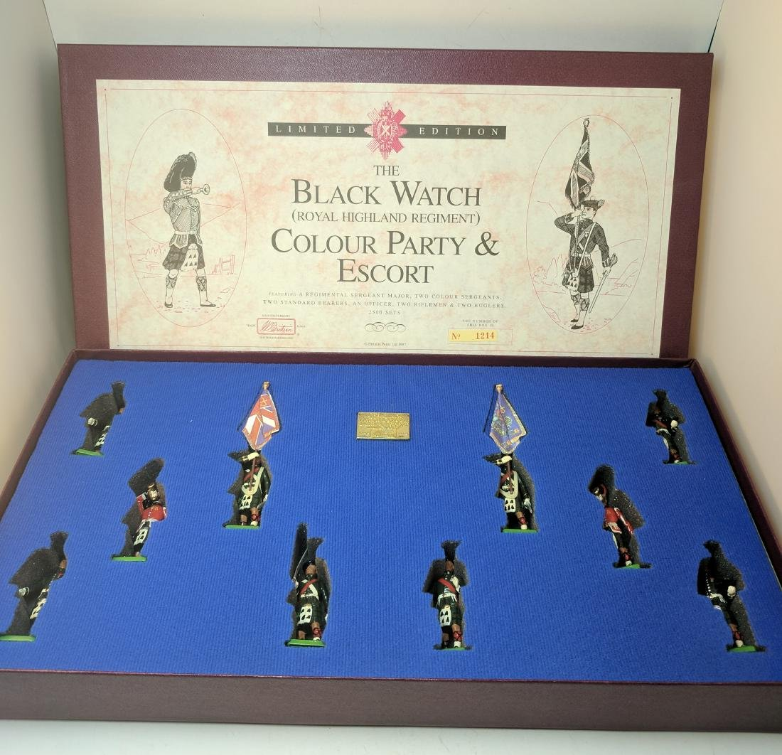 Britains 5297 Black Watch Color Party