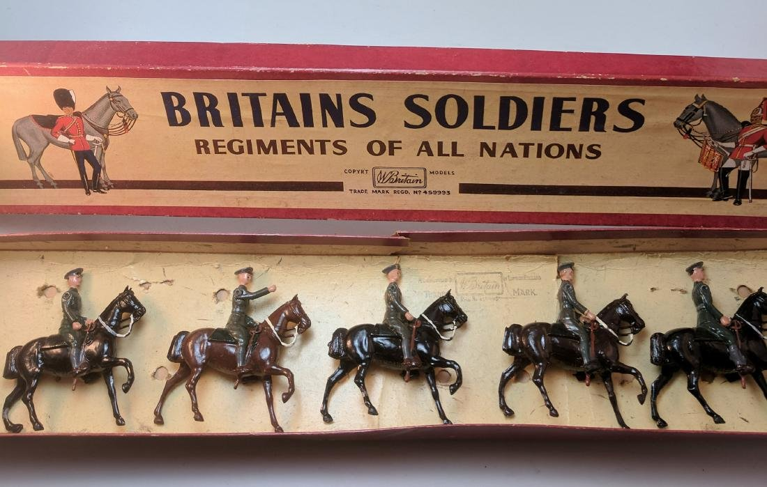 Britains Set 229 USA Cavalry