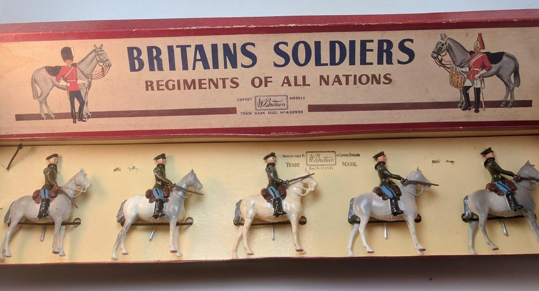 Britains 2028 Red Army Cavalry
