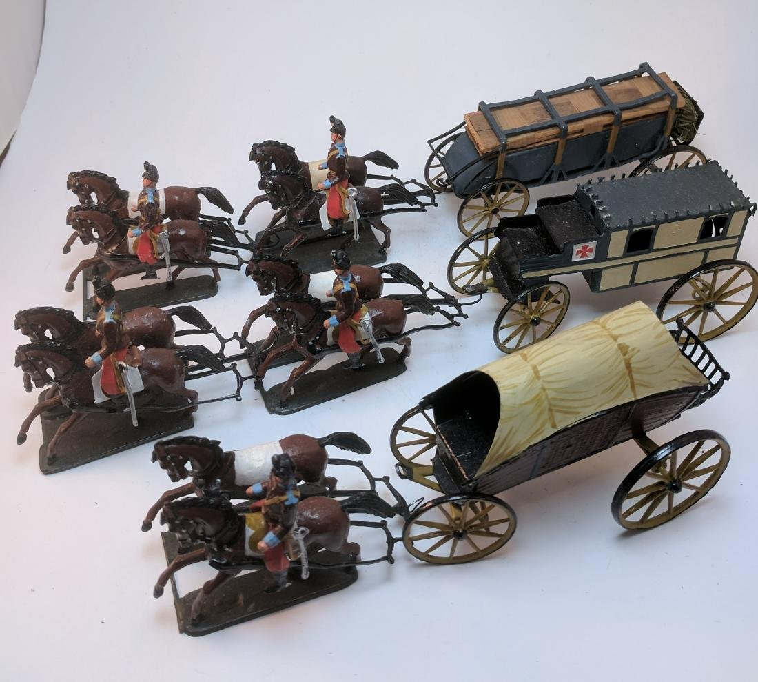 Wollner 3 Different Wagon Teams