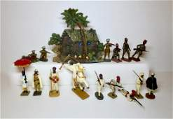 Various Makers Composition African Soldiers