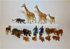 Various Makers Composition Zoo Animal Assortment