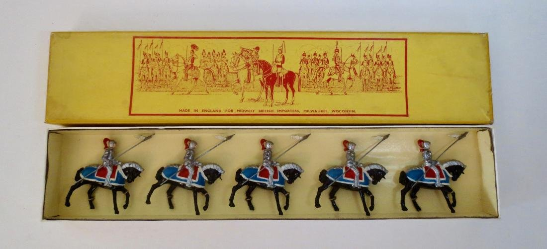 Johillco Set #166 Mounted Knights in Armour
