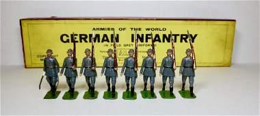 Britains Set #432 German Infantry Steel Helmets