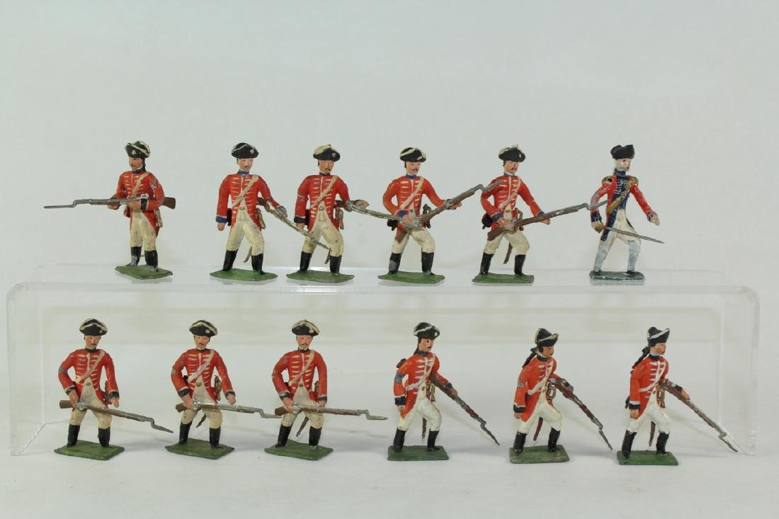 Heyde Revolutionary War British Infantry