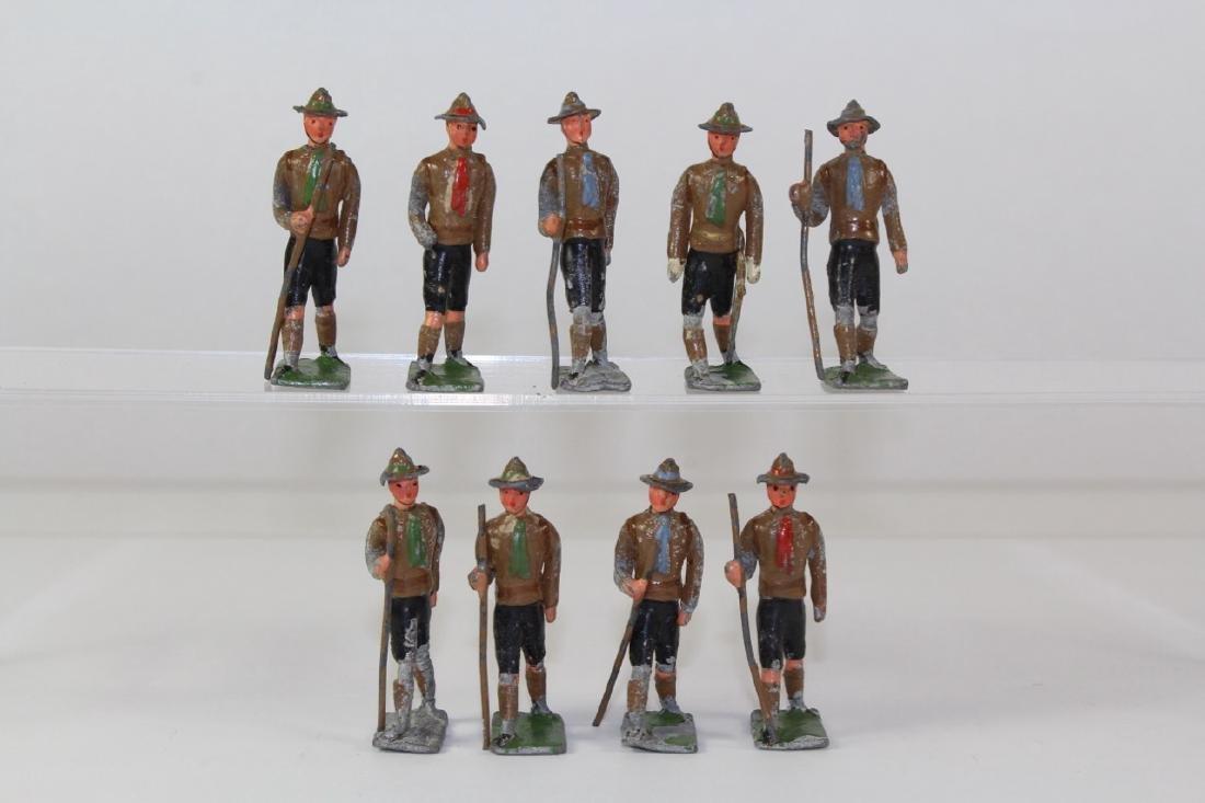 Heyde Boy Scouts Hiking