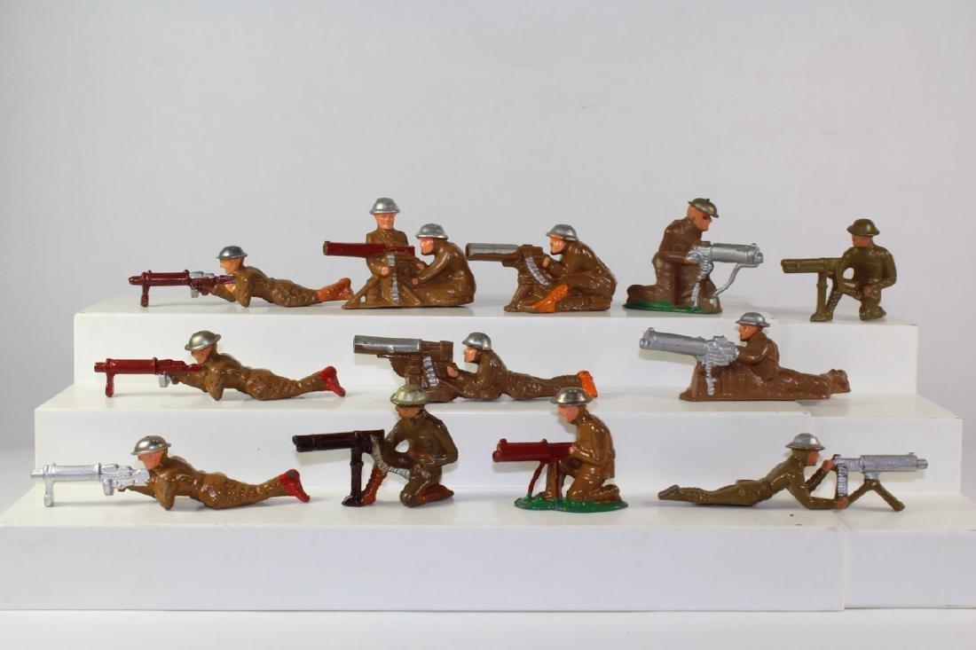 Manoil Barclay Marching Gun Assortment