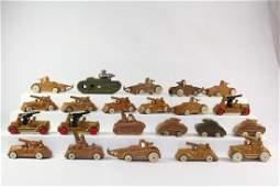 American Dimestore Tanks, Cannon Trucks, Armor