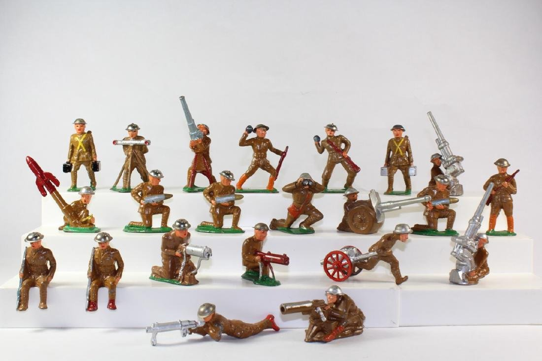Barclay And Manoil Combat Soldiers