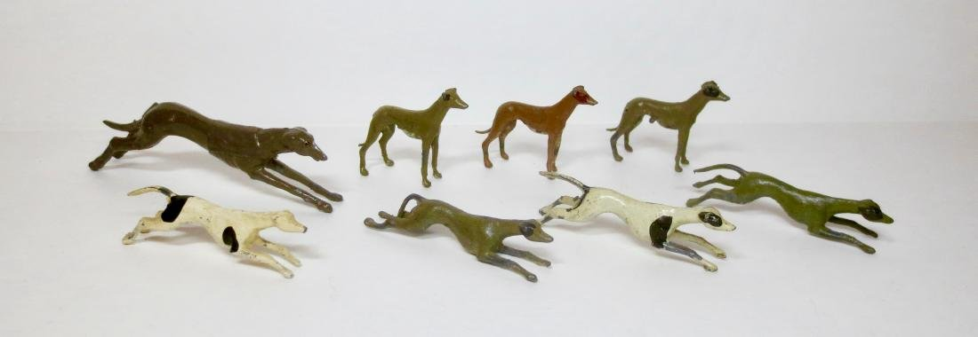 Britains and Johillco Grey Hound Assortment